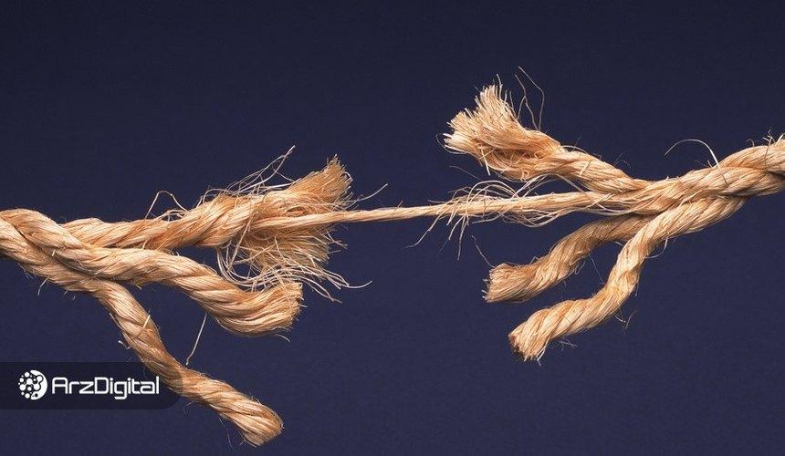 شلوغی شدید شبکه اتریوم در بازار نزولی اخیر؛ DeFi زیر سوال رفت!