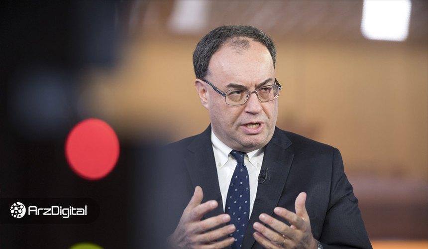 رئیس بانک مرکزی انگلیس: بیت کوین برای پرداخت مناسب نیست