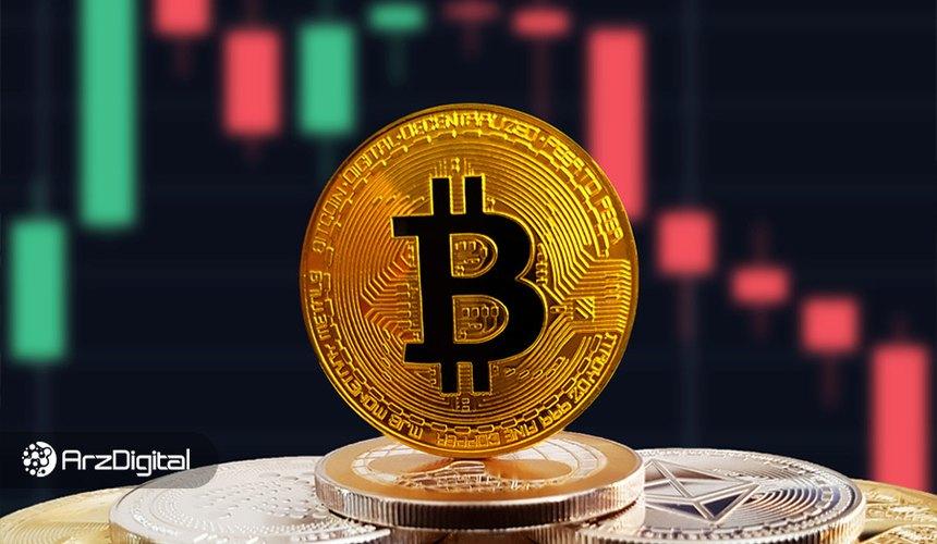 اصلاح شدید قیمت بیت کوین به زیر ۱۸,۰۰۰ دلار
