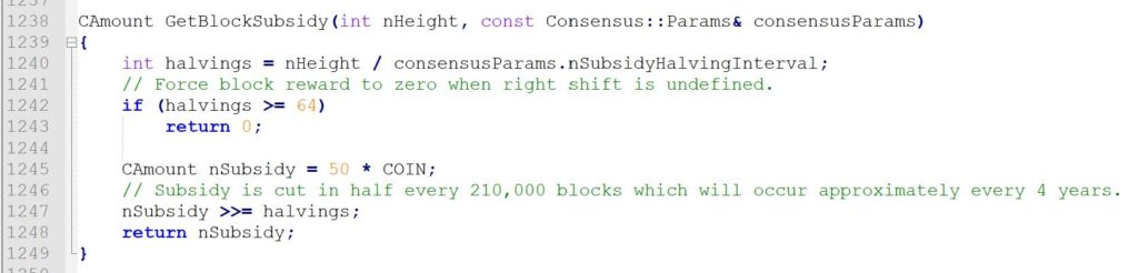 هاوینگ بیت کوین چگونه کار میکند؟ نگاهی به کد ضد تورمی بیت کوین