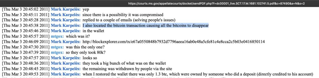 کریگ رایت با هک صرافی Mt.Gox ارتباط دارد!